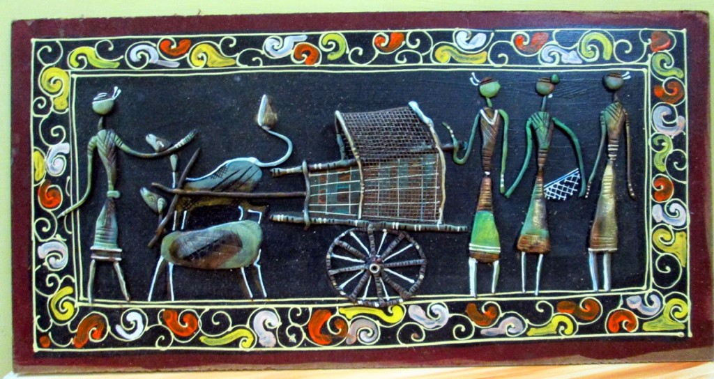 A decorative wall-hanging