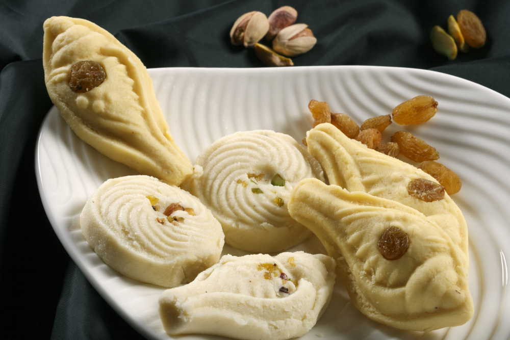 Different varieties of the highly popular Sandesh